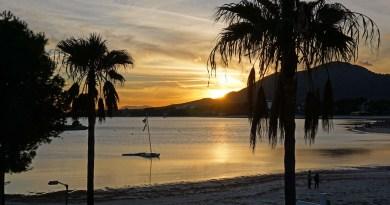 Sonnenuntergang in Alcudia