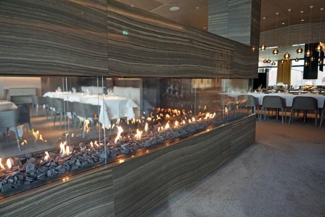 Im Restaurant Terra