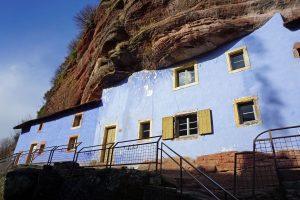 Felsenhäuser in Graufthal