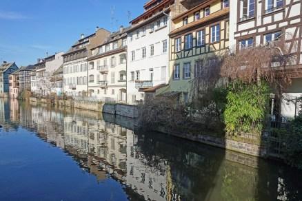 Straßburg spiegelt sich