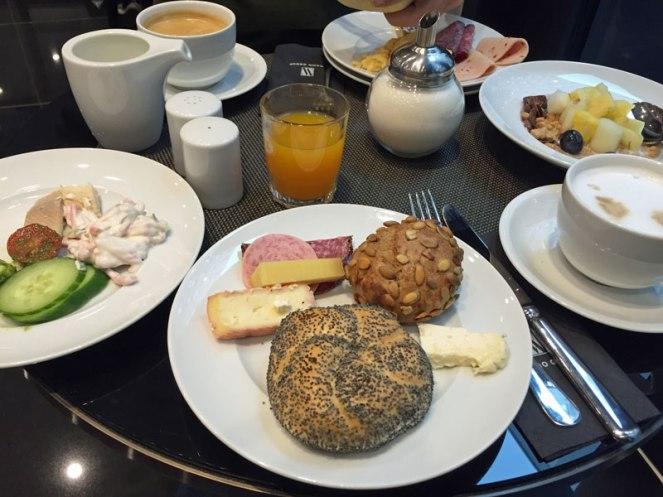 Frühstück im Amano