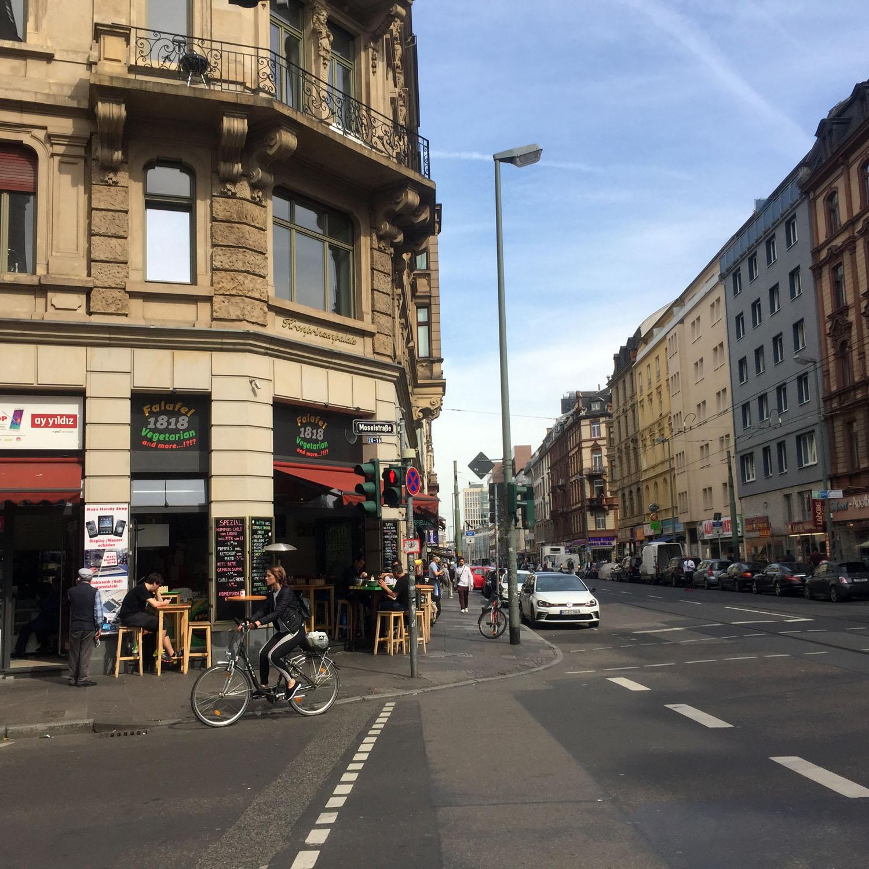 Unterwegs im Rotlichtviertel in Frankfurt