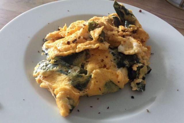 Erster Versuch: Frühstücksrührei