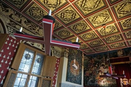 Decke im Schloss