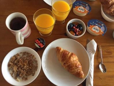 Frühstück in Aviemore