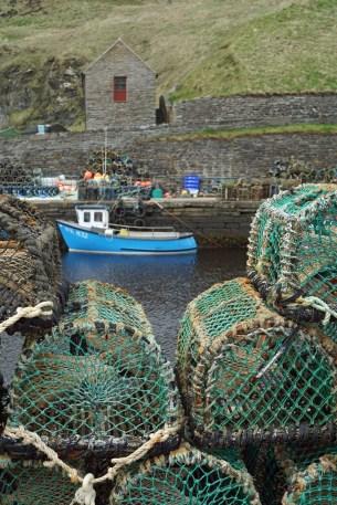 Der Hafen in Lybster