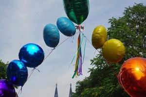 CSD in Köln: In der Parade mitgegangen