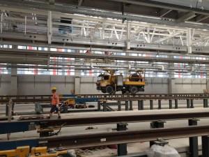 Am neuen ICE-Instandhaltungswerk in Köln-Nippes