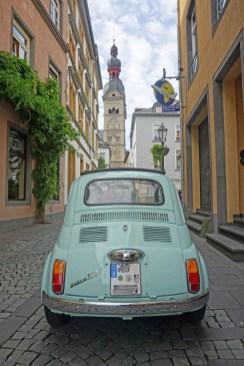 Schmale Straßen in Koblenz