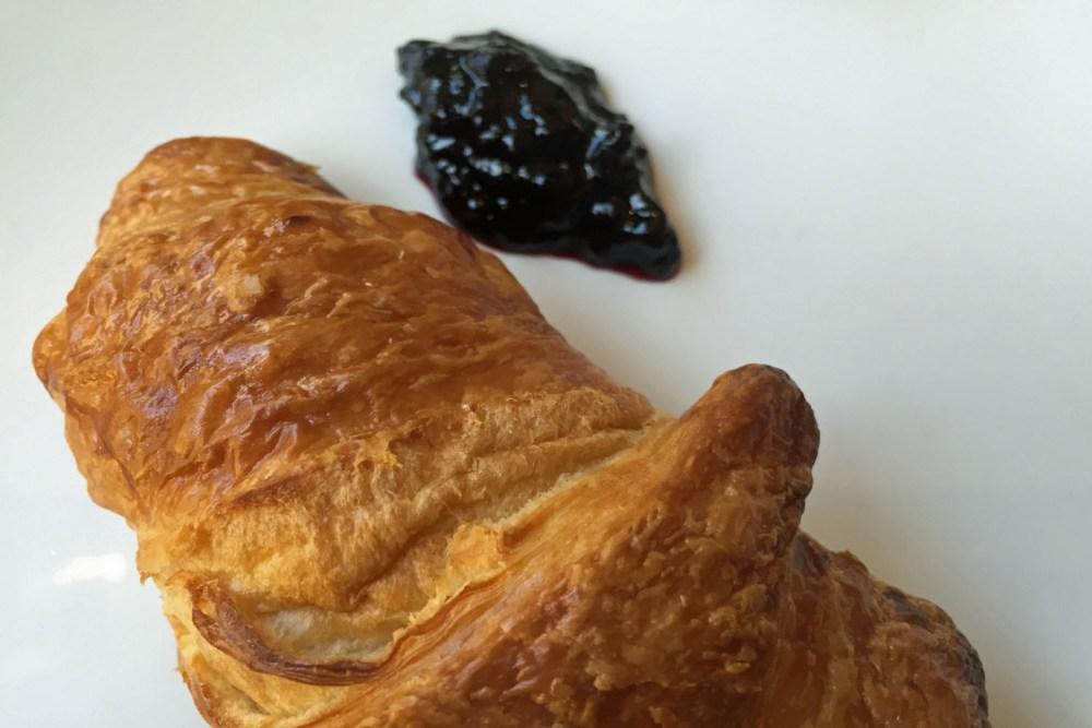 Croissant zur Feier des Tages