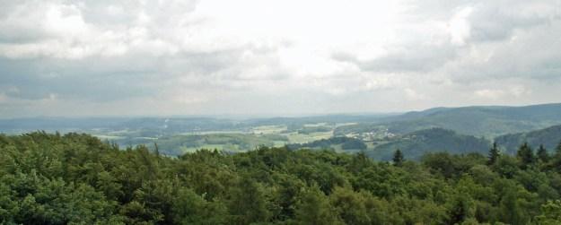 Blick über den Teutoburger Wald