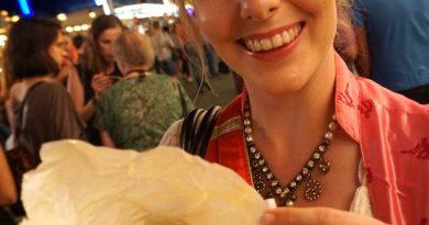 Gebrannte Mandeln von der Volksfestkönigin