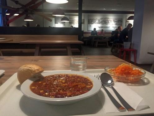 Chili con Carne in der Jugendherberge in Winterberg
