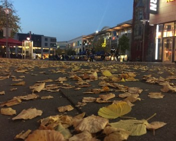 Es ist Herbst