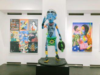Im Street Art Museum in Berlin