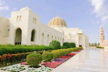 Die Moschee in Muscat