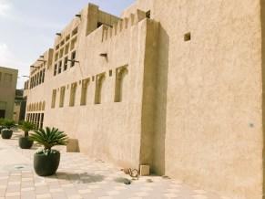 Scheich-Palast im Shindangha-Viertel in Dubai