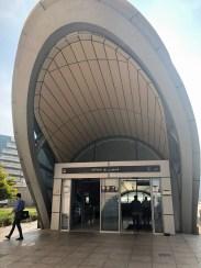 Metrostation in Dubai