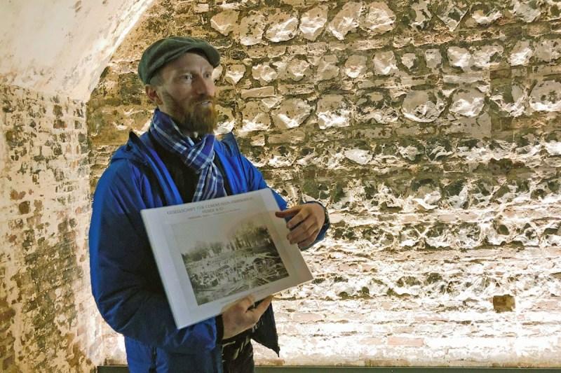 Andreas Frey erzählt die Geschichte der Winebar Köln