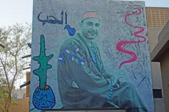 Streetart in groß in Dubai