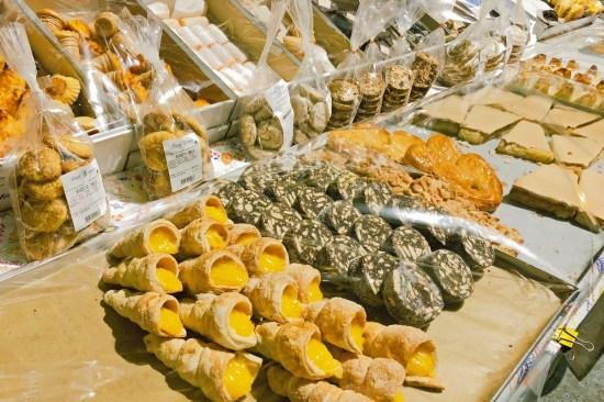 Süßes auf dem Markt