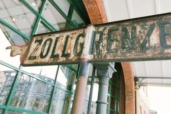 Hier geht's ins Zollmuseum in Hamburg