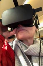 Mit VR-Brille