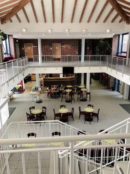 Lobby im Jugendgästehaus
