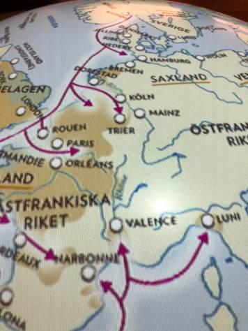 Köln lag nicht unmittelbar auf den Routen der Wikinger