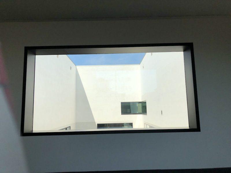 Ausblick im Museum