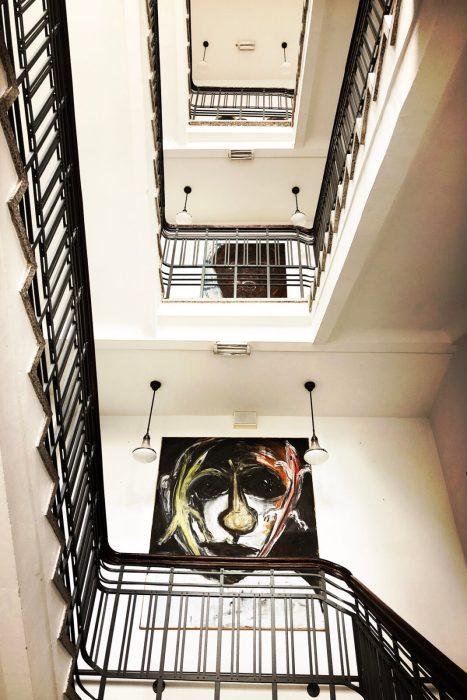 Galerie im Treppenhaus