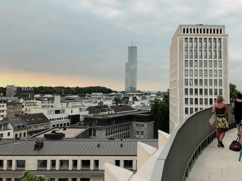 Cooler Blick übers Gerling-Quartier