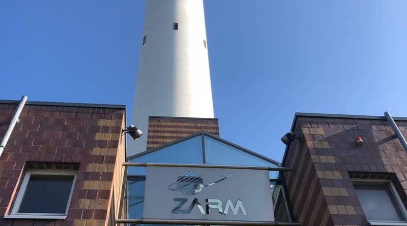 Sieht aus wie ein Schornstein: Der Fallturm in Bremen