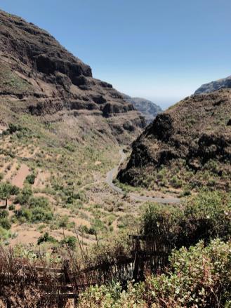 Barranco de Guayadeque im Osten von Gran Canaria