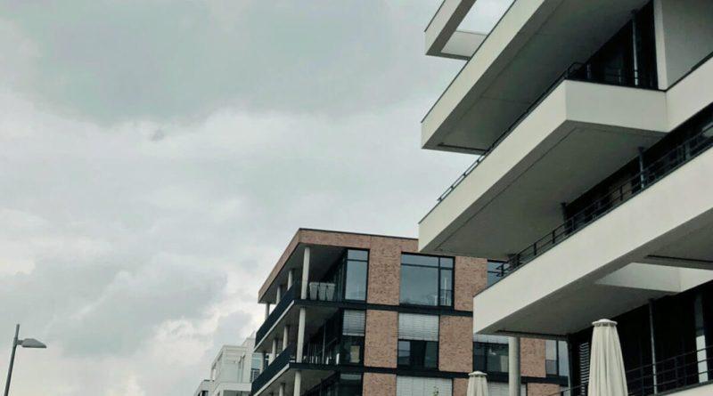 Modernes Stadtviertel