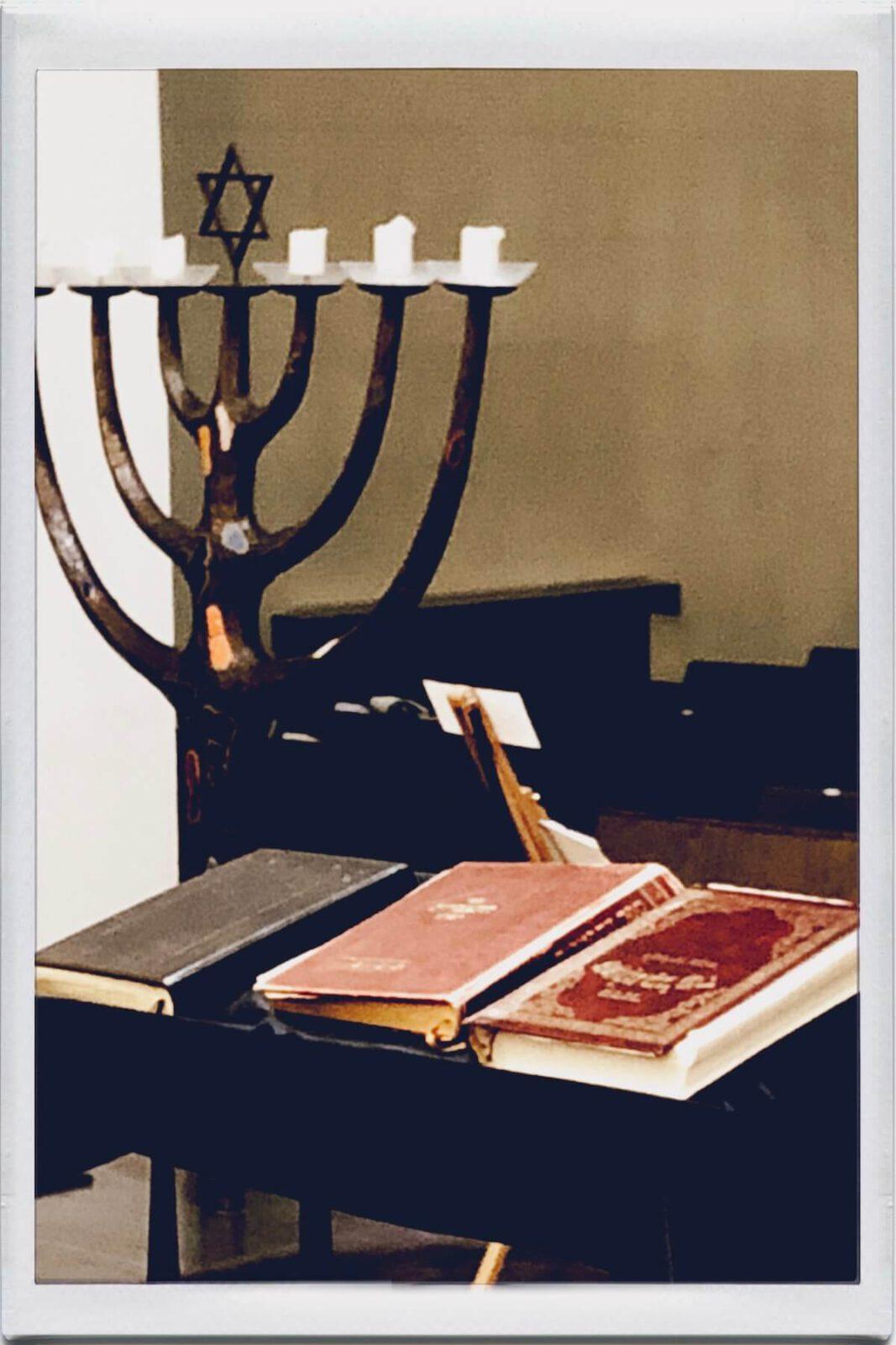Besuch in der Synagoge in Köln