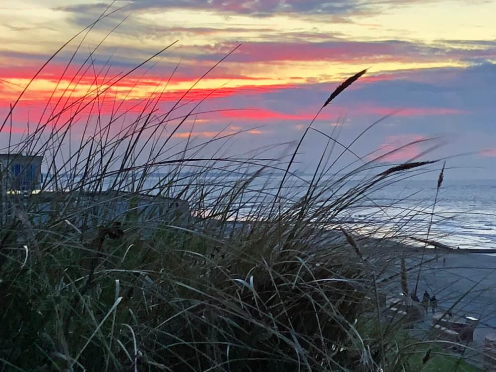 Sonnenuntergang von der Georgshöhe