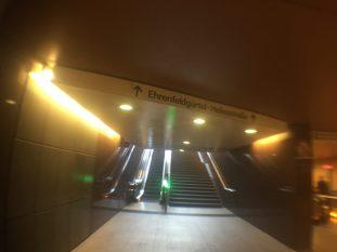 Mit der U-Bahn unterwegs