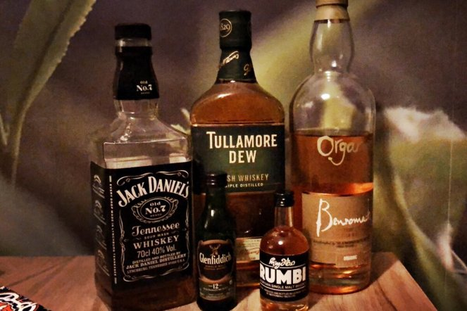 Whisky aus den USA, Irland, Schottland und Georgien