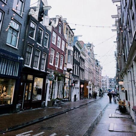 Amsterdam zur Weihnachtszeit