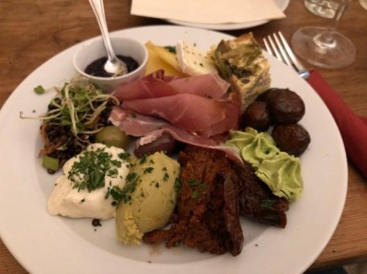 Vinothek: nettes Restaurant in Münster