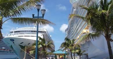 Kreuzfahrtschiffe auf den Bahamas