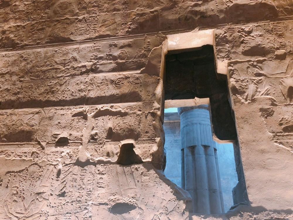 Einblick in Luxor