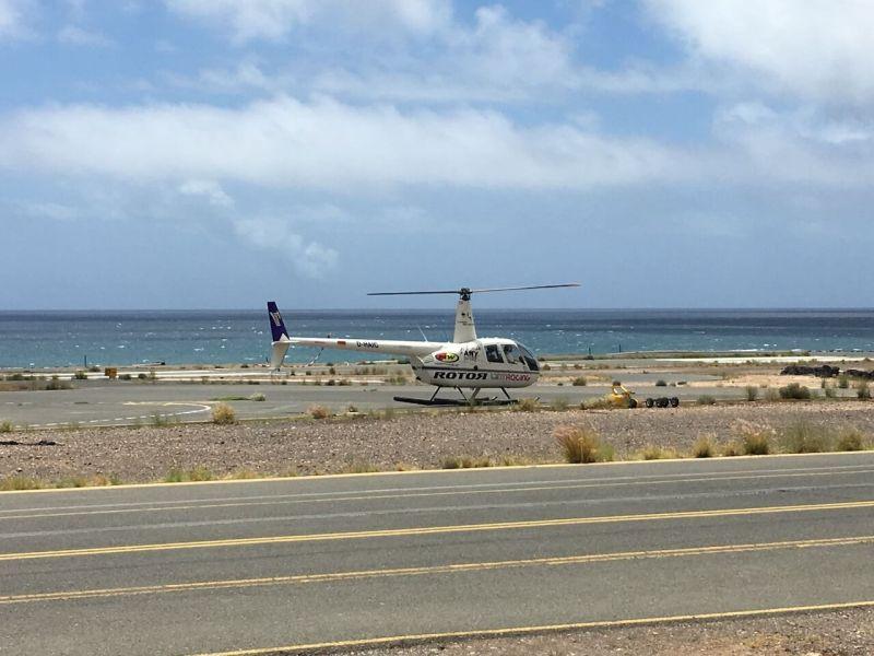 Hubschrauber auf Gran Canaria