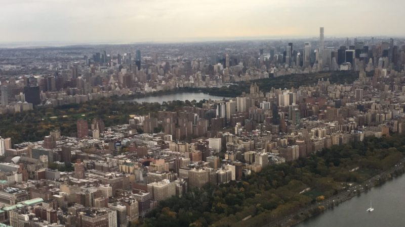 Hubschrauberrundflug in New York: Central Park