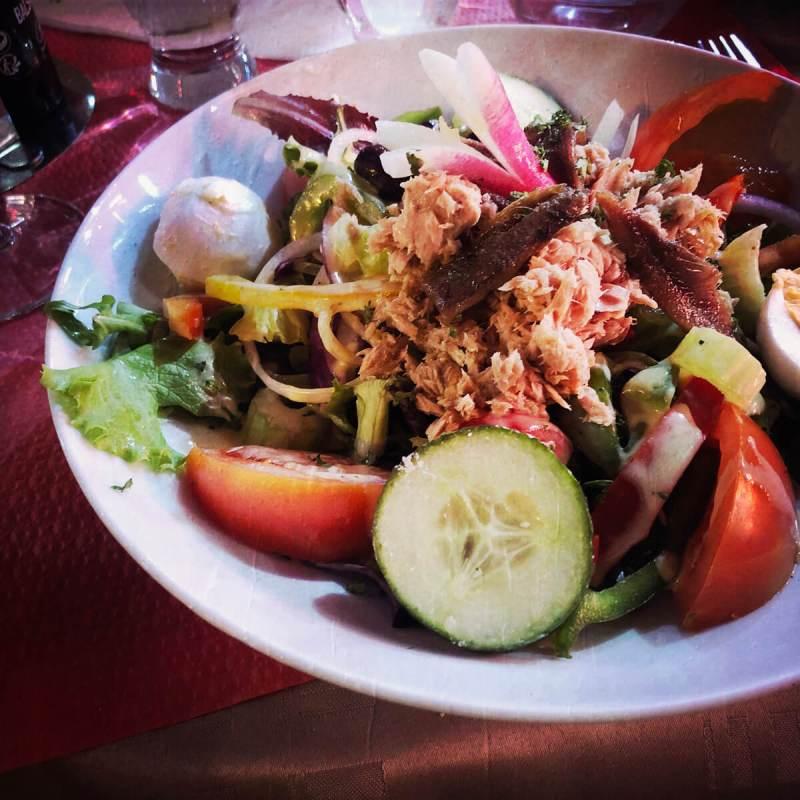 Essen an der Cote d'Azur
