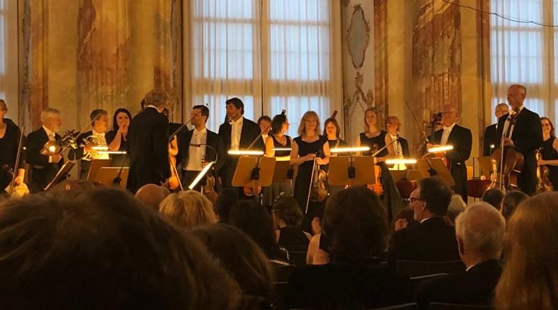 Nach dem Konzert: Applaus beim Mozartfest