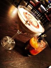 Espresso-Martini und Brombeeren-Sangria