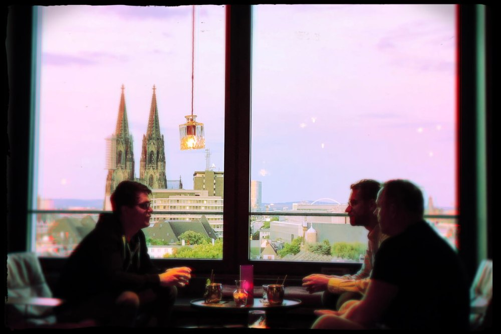 Drinks mit Domblick