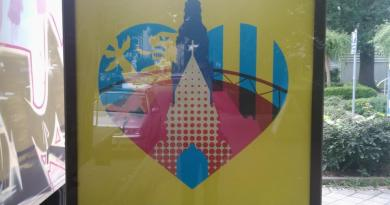 Plakat We love Leipzig